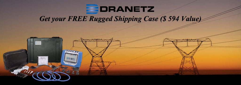 Free Rugged Shipping Case From Dranetz