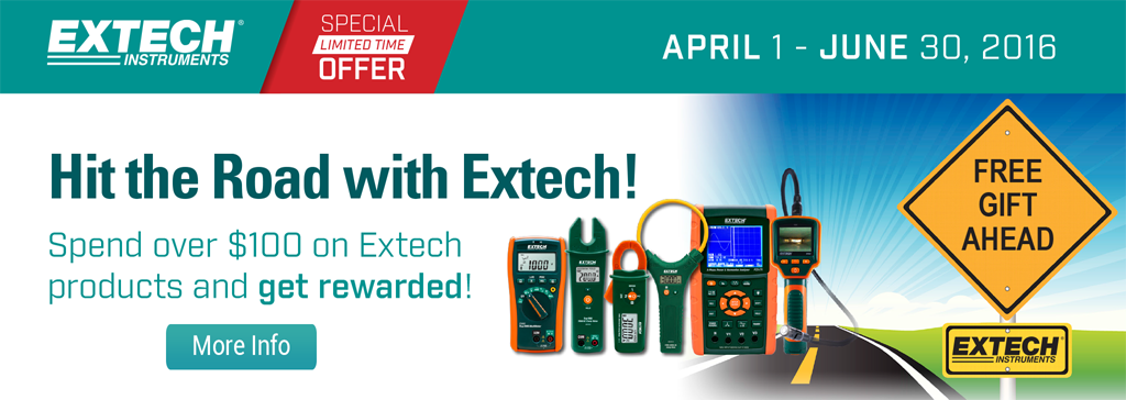 Hit the Road with Extech!