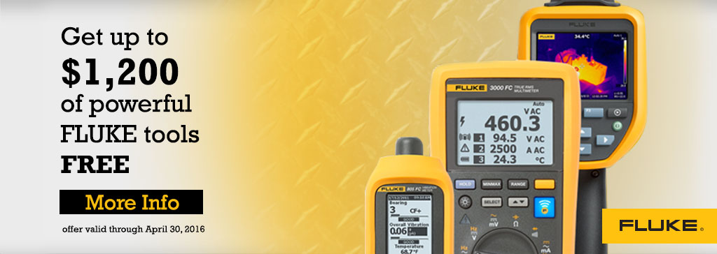 Fluke Fall Promotion
