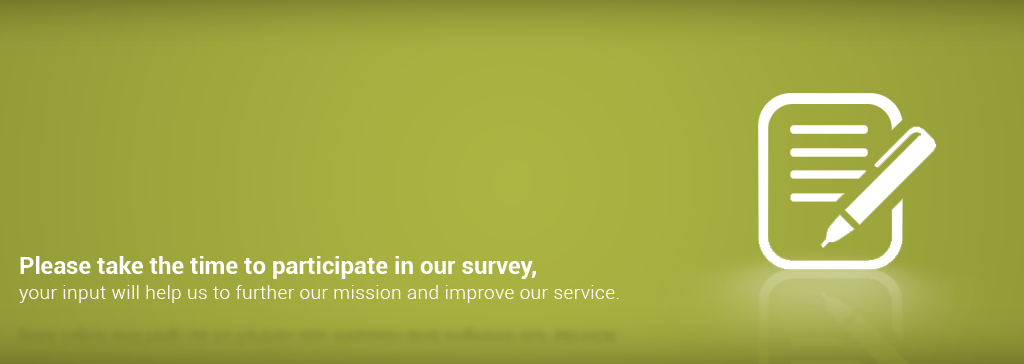 Customer Survey Banner