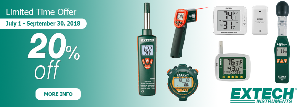 Get 20 Percent Off Select Extech!