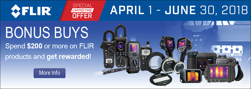Spend $200 or more on FLIR products and get rewarded
